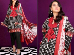Elegant Embroidered Khaddar Dress with Wool Shawl Dupatta Price in Pakistan