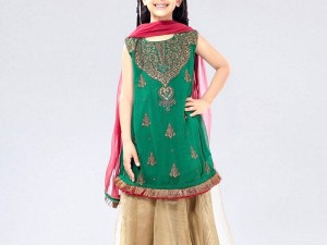 Kids 2-Pcs Embroidered Linen Dress Price in Pakistan