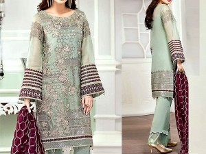 Embroidered Masoori Dress with Chiffon Dupatta Price in Pakistan