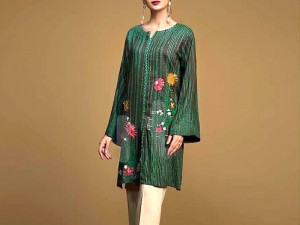 2-Pcs Heavy Sequins Embroidered Linen Dress Price in Pakistan