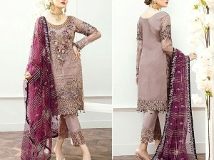 Heavy Embroidered Masoori Wedding Dress with Net Dupatta Price in Pakistan