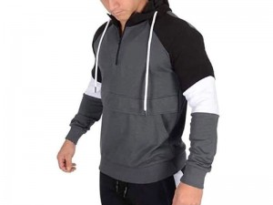 Stylish Men's Pattern Fleece Hoodie