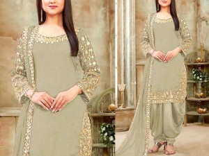 Mirror Work Embroidered Chiffon Dress Price in Pakistan