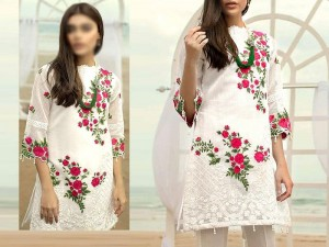 2-Pcs Embroidered Lawn Dress 2021 Price in Pakistan