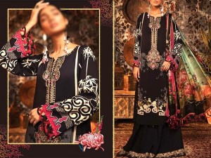 Embroidered Swiss Lawn Dress with Swiss Lawn Dupatta Price in Pakistan