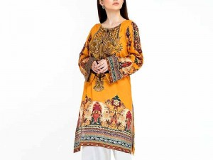 Readymade Digital Print Lawn Kurti for Girls Price in Pakistan
