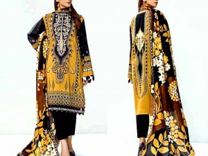 Digital Print Embroidered Lawn Eid Dress 2021 Price in Pakistan