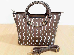 Faux-Leather Ladies Fashion Handbag Price in Pakistan
