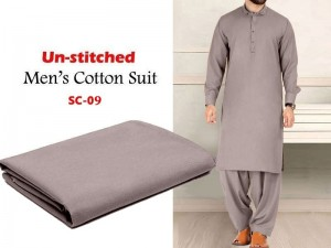 IB Swiss Fashion Soft Cotton Unstitched Men's Shalwar Kameez Price in Pakistan