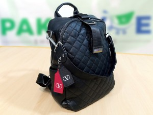 Trendy Black Backpack for Girls Price in Pakistan
