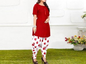 2-Pcs Embroidered Lawn Eid Dress 2021 with Embroidered Trouser Price in Pakistan
