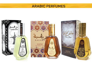 Pack of 3 Arabic Perfumes - 50ml Price in Pakistan