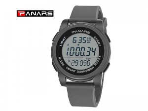 Original PANARS Digital Sports Watch - Grey Price in Pakistan
