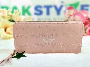 Ladies Clutch Bag- Pink