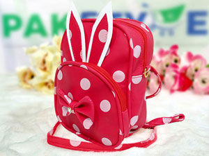 Polka Dots Mini Backpack for Kids - Red