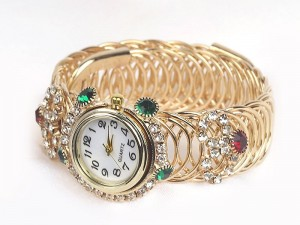 Women's Kara Bangle Watch - Golden Price in Pakistan