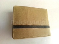 Skin Color Genuine Leather Wallet in Pakistan