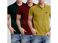 3 Nike Polo T-Shirts in Pakistan