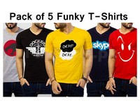 5 Funky T-Shirts For Men in Pakistan