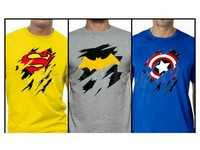 3 Superhero T-Shirts Bundle Deal in Pakistan