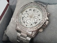 Stone Studed Silver Winner 24 Watch in Pakistan