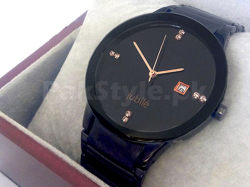 Men's Centrix Jubile Watch - Black