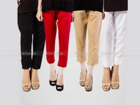 Pack of Cotton 4 Cigarette Pants in Pakistan