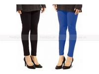 2 Ladies Cotton Tights in Pakistan
