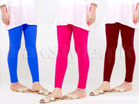 3 Ladies Cotton Tights in Pakistan