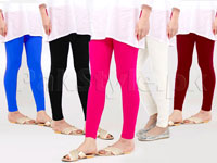 Pack of 5 Cotton Jersey Tights