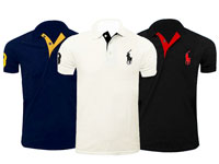 3 Ralph Lauren Polo Shirts in Pakistan