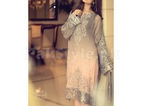 Chiffon Fabric Unstitched Suit in Pakistan
