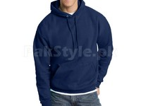 Plain Pullover Hoodie Navy Blue in Pakistan