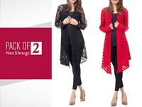 Pack of 2 Net Shrugs in Pakistan