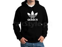 Adidas Logo Pullover Hoodie - Black in Pakistan