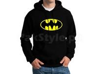 Batman Logo Pullover Hoodie - Black in Pakistan