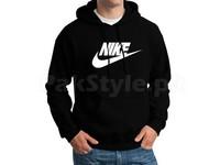 Nike Logo Pullover Hoodie - Black in Pakistan