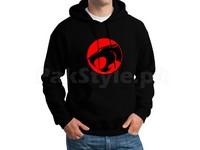 Thundercat Logo Pullover Hoodie - Black in Pakistan