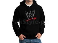 WWE Logo Pullover Hoodie - Black in Pakistan