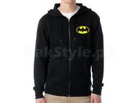 Batman Logo Zip Hoodie - Black in Pakistan