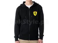 Ferrari Logo Zip Hoodie - Black in Pakistan