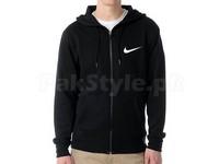 Nike Logo Zip Hoodie - Black in Pakistan