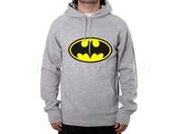 Batman Logo Pullover Hoodie - Grey in Pakistan