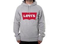 Levis Logo Pullover Hoodie - Grey in Pakistan