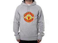 Manchester Logo Pullover Hoodie - Grey in Pakistan