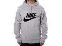 Nike Logo Pullover Hoodie - Grey in Pakistan