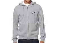 Nike Logo Zip Hoodie - Grey in Pakistan
