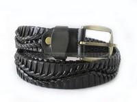 Men's Knitted Leather Belt in Pakistan