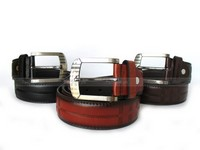 3 Men's Leather Belts Bundle Pack in Pakistan