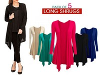 5 Women's Cotton Shrugs Bundle Pack Price in Pakistan